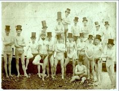Brighton Swimming Club in 1863 from History in Pictures on Twitter