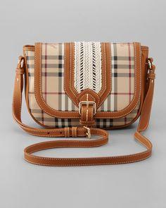 Burberry Check Crossbody Bag