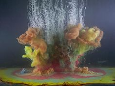 What Happens When An Ex-NASA Engineer Drops Paint Into Fish Tanks | Co.Design | business + innovation + design