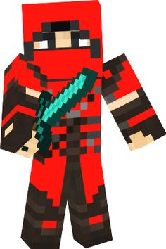 Minecraft fan skin boy wearing an i love minecraft t shirt and ninja minecraft skin google search sciox Gallery