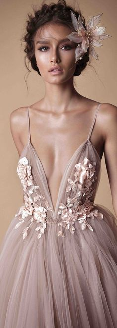 Beautiful gown blush color