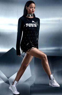 Rihanna x Puma Looove More fashion inspiration Pinterest: @LyriumBell