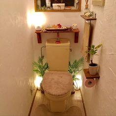 Saoさんの、のーぐりーんのーらいふ,ハワイアン,バリ風,ニトリ,アイアン雑貨,リゾート風,アジアン,観葉植物,DIY,バス/トイレ,のお部屋写真