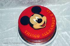 Bursdagskaker: Mikke Mus-kake
