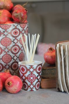 L'automne @roseetmarius #Provence #Luxe roseetmarius.com Luxury Candles, Reed Diffuser, Interior, Candles