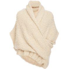 Tuinch     Handmade Cross Front Cashmere Sweater