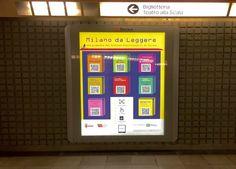 Milano da leggere: nelle stazioni metro arrivano gli ebook