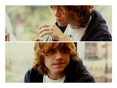 """Rupert Grint- During what i like to call """"The lost years"""" He did NOT know what his hair looked like!"""