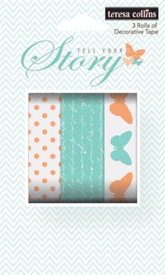 Masking tape - Tell your story Teresa Collins