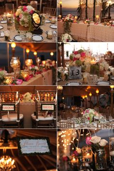 sunset decor at grand old house    beautiful colors and light for this wedding in Grand Cayman - aaronrebarchek.com -   photographer on Cayman Islands - also great for Caribbean wedding ideas..
