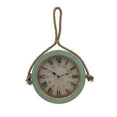 Seaside Getaway Wall Clock