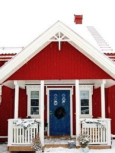 """Happy Friday. Great board yesterday, thanks sweet Prayer Whisperer. ♥ Let's get our cottage ready for the Memorial Day weekend by doing a """"Red, White & Blue Cottage"""", inside & out. Blessings. ♥♥ ~ Dee"""