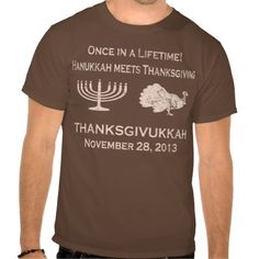 Vintage Funny Thanksgiving Meets Hanukkah T Shirt  #thanksgiving, #hanukkah, #menorah, #thanksgivukkah