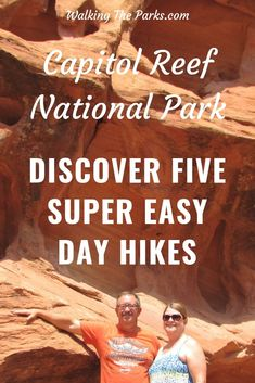 5 Super Easy Capitol Reef National Park Day Hikes - Walking The Parks Best Hiking Gear, Go Hiking, Hiking Trails, Utah Vacation, Vacation Ideas, Utah Camping, Capitol Reef National Park, Hiking With Kids, Travel Usa