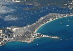 프린세스 줄리아나 국제공항 (Princess Juliana International Airport) 마호 해변(Maho Beach)