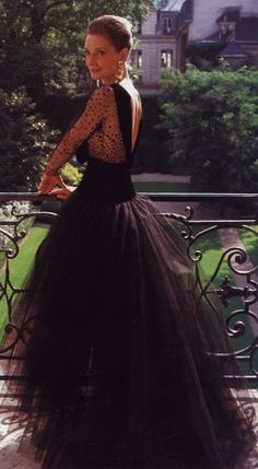 Audrey in Paris wearing her favorite Givenchy gown.