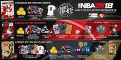 NBA 2K18 Comes in Three Separate Editions. Follow our NBA 2K League blog to get update news about pro am, draft, 2k games, screenshots, ratings, news and rumors etc. all at one place. Visit our website today!!
