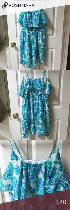 Lilly Pulitzer Dress Beautiful starfish/sand dollar pattern, size medium, never worn Lilly Pulitzer for Target Dresses Mini