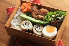 ぶりのカレー竜田揚げ弁当 : うれしい楽しいお弁当