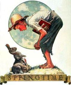 Bunny Boy - Norman Rockwell