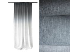 Hey I Found This Really Awesome Etsy Listing At 211248145 Window Curtain Ombre Grey Fade To White