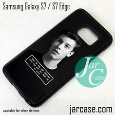 Shawn Mendes (7) Phone Case for Samsung Galaxy S7 & S7 Edge
