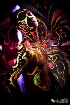 Glow in the dark party by Leigh Ann Pobiak