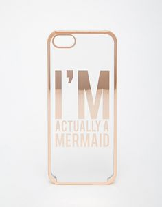 ASOS I'm Actually A Mermaid iPhone 5 Case