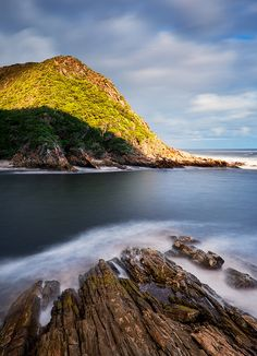 Storms River Mouth, Garden Route, Cape   by John & Tina Reid, via Flickr