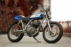 Yamaha SR400 Street Tracker - Greed - Inazuma Cafe Racer