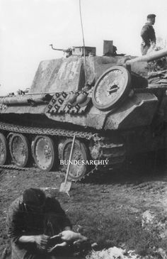 Probably 2.SS Das Reich Panther Eastern Front 1943.