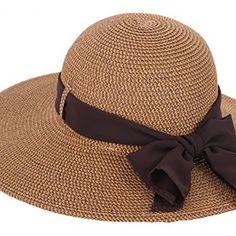dedf90a86e7 Simplicity Women s Wide Brim Summer Beach Sun Straw Hats