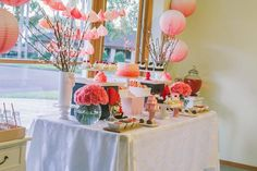 Japanese Themed Birthday Party