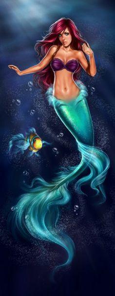 Ariel et Polochon par Giselle U