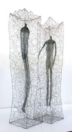 licha_Queen and King_Queen X 49 X 52 Sea Sculpture, Modern Sculpture, A Level Art, Ap Art, Wire Art, Photography Portfolio, New Shows, King Queen, Contemporary Art