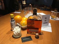 """This week's Happy Hour featured a """"create-your-own Old Fashioned"""" class using Woodford Reserve! Cheers!   Bloommiami is a creative agency based in Miami, Florida with a focus on the travel retail and hospitality design industries."""