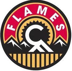 Calgary Flames Alternate/Jersey Patch Logo (2013/14-Present)