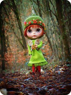 #Blythe Even the dwarfs in the forest like pretzels by Herzlichkeiten, via Flickr