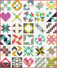 Piece N Quilt: 30 Days of Sewing Quilt Blocks - A Sampler Quilt Tutorial