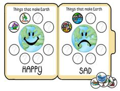 The Green Classroom: 20 Easy and Free Classroom Activities for Earth Day Earth Day Activities, Sorting Activities, Science Activities, Recycling Activities For Kids, Classroom Themes, Classroom Activities, Community Helpers Preschool, Kindergarten, Earth Day Crafts