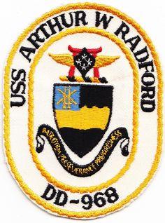 USS Arthur W. Radford DD-968 USN Original Period Piece
