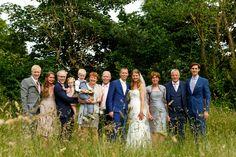 Groepsfoto!   Bruiloft door de Kievit Bruiloften Bruidsfotografie