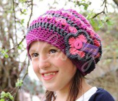 Mütze, gehäkelt, mit Namen - eine schöne Idee zum Verschenken! Made by Curlyz