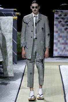Thom Browne Spring 2016 Menswear Fashion Show