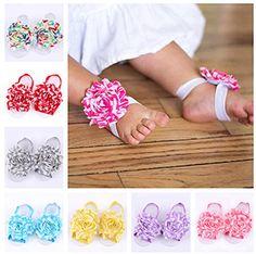 Xife® Newborn Foot Flower Baby Girl's Footwear Sandals (8 Pack) XiFe http://www.amazon.com/dp/B00T76QKRU/ref=cm_sw_r_pi_dp_k80cwb1AQKTV7