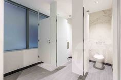 Ceiling Suspended Floating Base Door Furniture, Toilet, Cubicle, Locker Storage, Public Bathrooms, Bathroom Ceiling, Urinals, Commercial Bathroom Designs, Bathroom Design