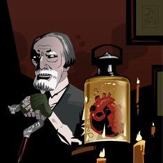 The strain fan art Joker, Darth Vader, Fan Art, Fictional Characters, The Joker, Fantasy Characters, Jokers, Comedians