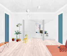 The 120m2 apartment, built in the turn of the 19th century, presented a fragmented arrangement of rooms and an erratic (almost negligent) overlay of successive interventions by previous owners abandoned the original character of the space. By erasing a...