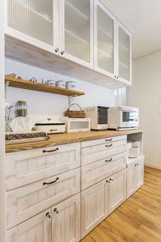 キッチン・造作バックキャビネット・収納/ジャストの家