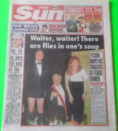 The Sun 17 march 1995 - Duchess of York